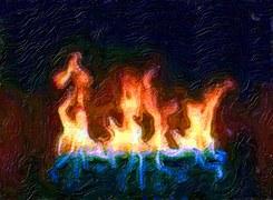 oil fire