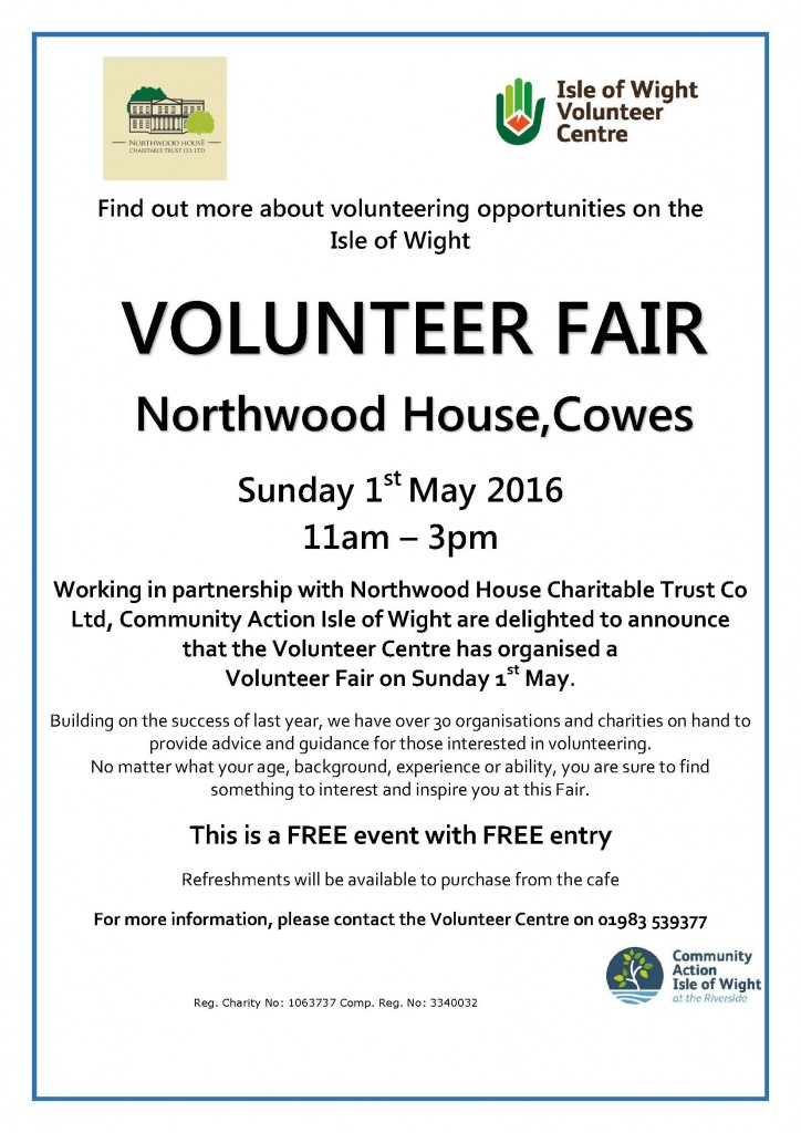 Northwood House Vol Fair poster